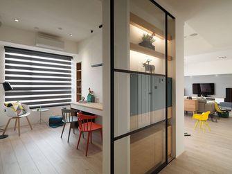 80平米三室两厅宜家风格客厅装修图片大全