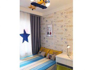 140平米三室一厅地中海风格儿童房欣赏图