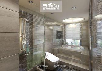 140平米别墅现代简约风格卫生间浴室柜欣赏图