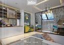 20万以上140平米别墅现代简约风格楼梯图
