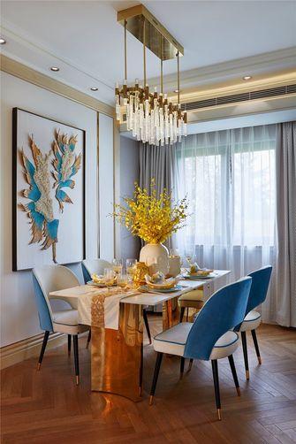 经济型90平米三室两厅地中海风格餐厅装修案例