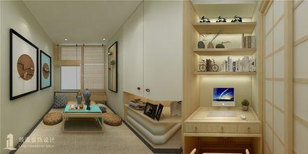 60平米三室一厅日式风格书房图片大全