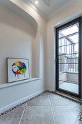 140平米三室三厅地中海风格阳台图片