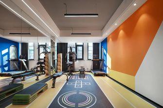 140平米现代简约风格健身室图片