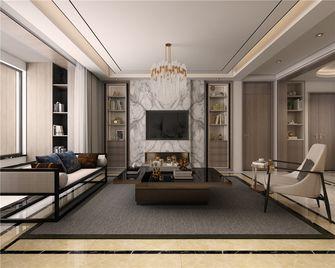 140平米三现代简约风格客厅装修图片大全