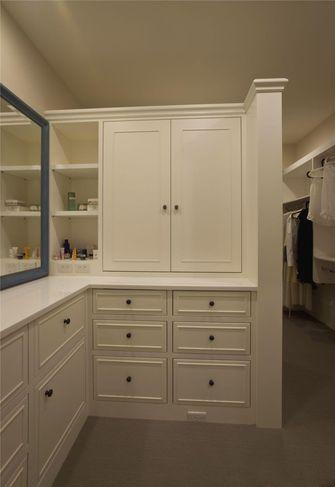 110平米三室两厅美式风格衣帽间效果图