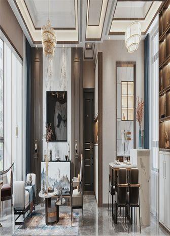 90平米三室一厅中式风格客厅装修效果图