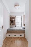 70平米三室三厅北欧风格卧室效果图