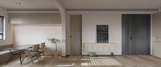 80平米三室一厅日式风格餐厅装修图片大全