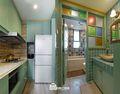 60平米公寓东南亚风格厨房装修案例