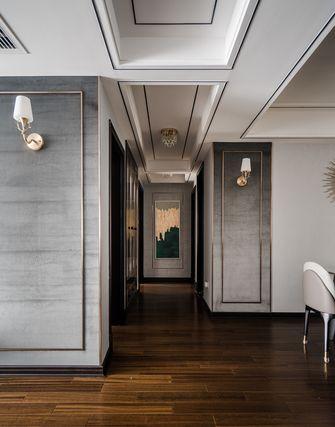 100平米三室两厅美式风格走廊效果图