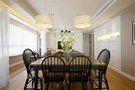 140平米四室两厅现代简约风格餐厅吊顶设计图