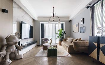 100平米一室一厅北欧风格客厅设计图