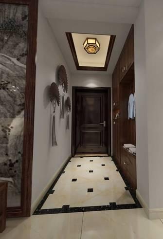 100平米三室两厅中式风格玄关装修效果图