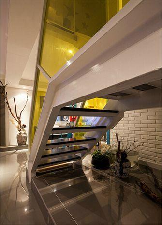 富裕型80平米复式现代简约风格楼梯装修案例