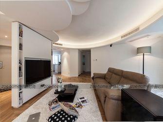 110平米三室两厅现代简约风格客厅吊顶装修案例