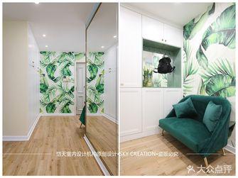80平米一居室混搭风格玄关装修案例