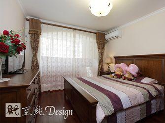 经济型100平米美式风格卧室窗帘装修案例