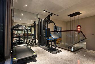 140平米三中式风格健身室设计图