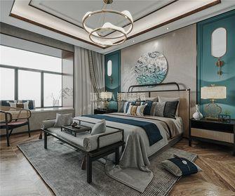 140平米三室两厅新古典风格卧室设计图