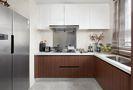 140平米四室一厅中式风格厨房装修效果图