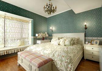140平米三室两厅田园风格卧室装修图片大全