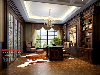 140平米别墅新古典风格书房图片大全