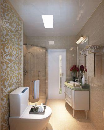110平米四室一厅现代简约风格卫生间浴室柜装修案例