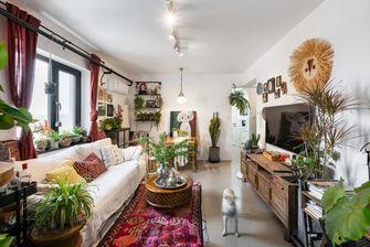 70平米公寓东南亚风格客厅图片