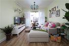 60平米公寓田园风格客厅设计图