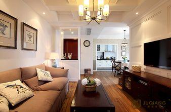 90平米三室一厅英伦风格客厅欣赏图