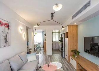 60平米一居室北欧风格客厅装修图片大全