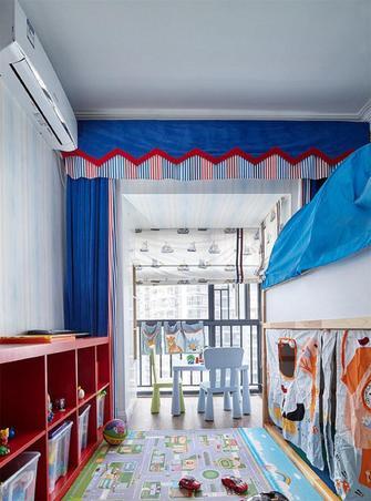 10-15万110平米三室两厅混搭风格青少年房设计图