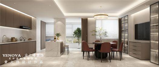 140平米四室两厅欧式风格厨房图