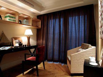 90平米四室两厅东南亚风格书房设计图