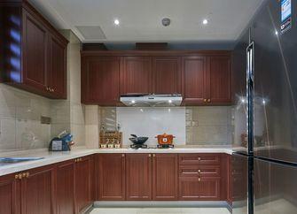 120平米三室两厅欧式风格厨房橱柜装修图片大全