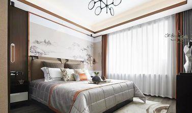 140平米三室一厅中式风格卧室效果图