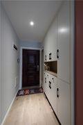 80平米三室两厅北欧风格走廊欣赏图