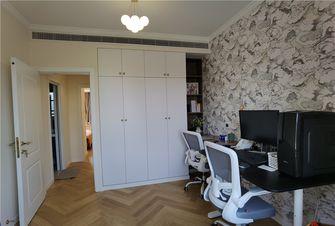 80平米三室两厅混搭风格书房设计图