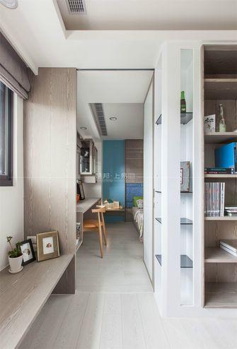140平米三室一厅日式风格书房设计图
