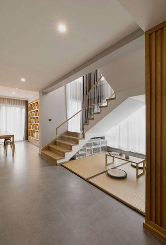 140平米复式日式风格楼梯间装修案例