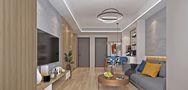 100平米三室一厅其他风格客厅装修效果图