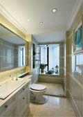 110平米三室两厅欧式风格卫生间图片