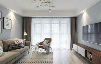 100平米三欧式风格客厅装修案例