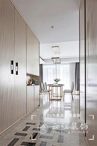 120平米复式现代简约风格餐厅图片