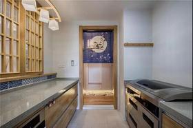 130平米三日式风格厨房欣赏图