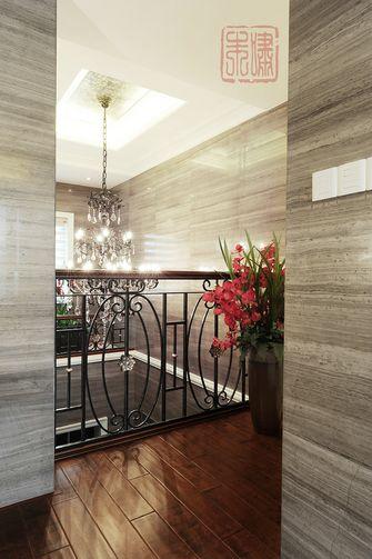 20万以上140平米别墅新古典风格楼梯效果图