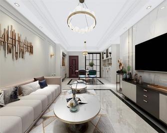 80平米三室两厅宜家风格客厅图片
