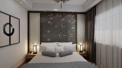 110平米四室两厅中式风格卧室设计图