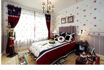130平米三室两厅地中海风格儿童房图